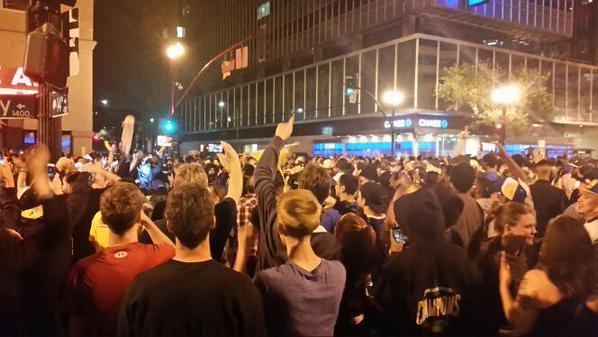 Oakland. Photo @OakMorr