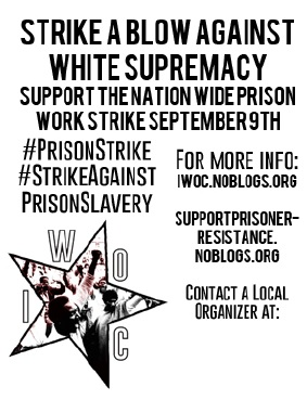 strike against white supremacy mobilize for the september 9th