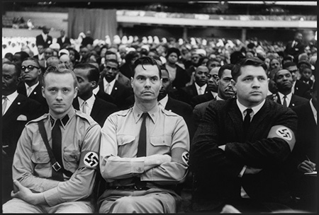George-Lincoln-Rockwell-and-members-of-the-American-Nazi-Party-attend-a-Nation-of-Islam-summit-in-1961-to-hear-Malcolm-X-speak