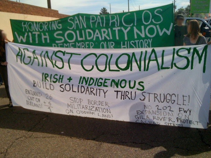 Navigating history as a blueprint for solidarity in the era of four hundred copies of this flier were distributed during this mornings annual st patricks day parade in central phoenix the flier was handed out by the malvernweather Images