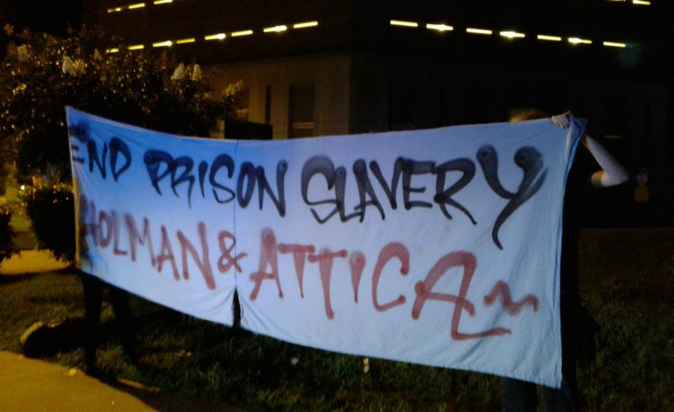 Atlanta: Reportback from Prisoner Solidarity Action