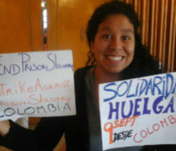 Colombia: Congreso de los Pueblos in solidarity with #PrisonStrike
