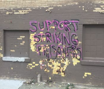 Chicago: Graffiti in Solidarity with the Prison Strike and Against the Police
