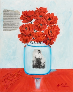 Painting by Oscar Lopez RIvera, for Calendar Certain Days:The 2017 Calendar for Freedom for Political Prisoners.