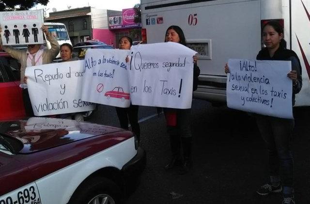 taxi-shut-down-oaxaca