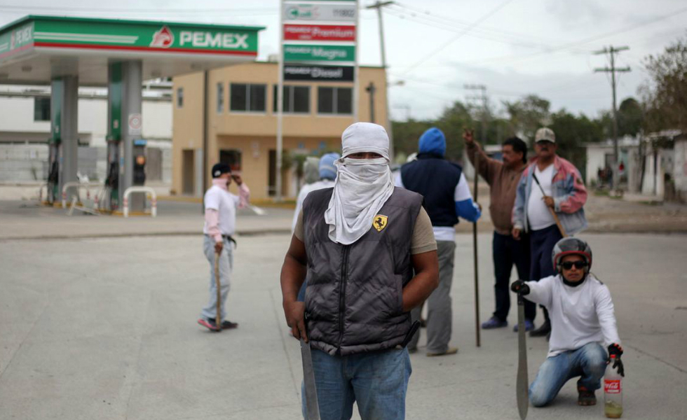Mexico: Chronicle of Days of Looting and Revolt. Or, What is to Come?