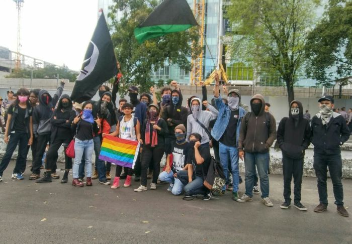 Jakarta, Indonesia: Report from the Anti-Trump Protest