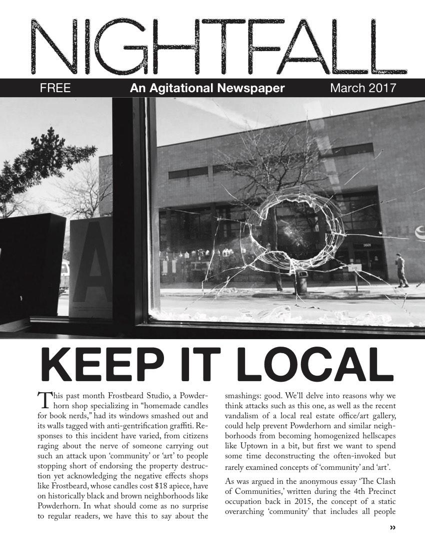 NIGHTFALL-FIVE cover