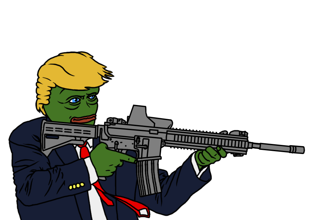 Transparent Png Hand With Gun Meme - It is a very clean ...