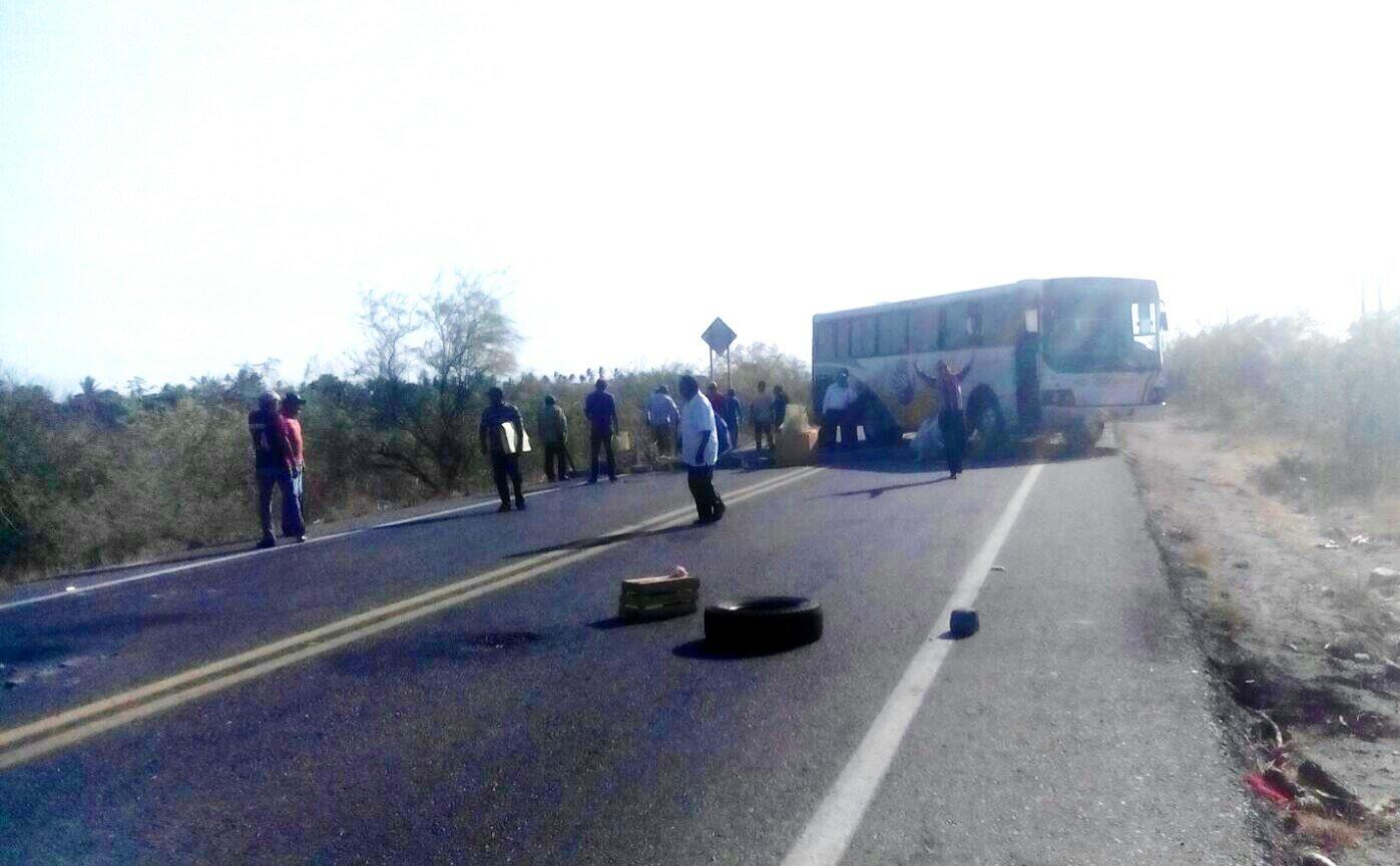 indigenous communities blockade highway in oaxaca it s going down