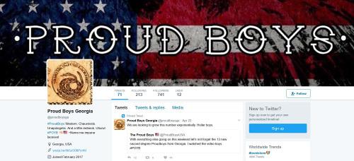 proud boys georgia twitter