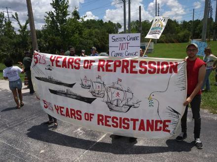 June 9 STR demo at Davenport