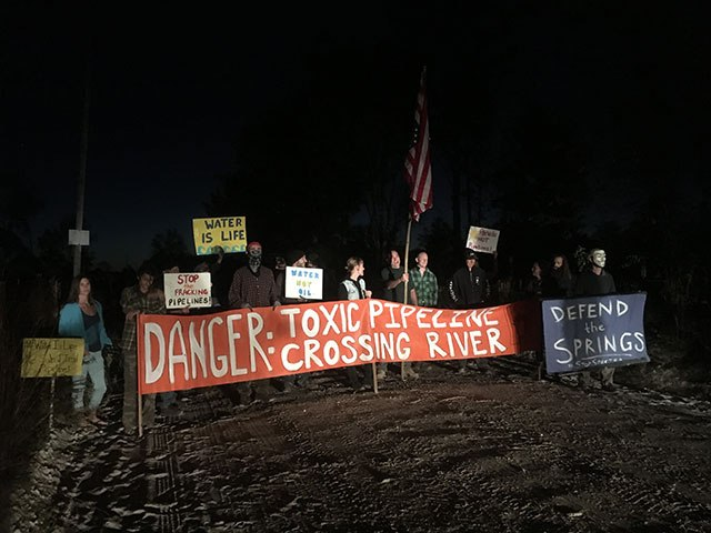 STR blockade Nov 5