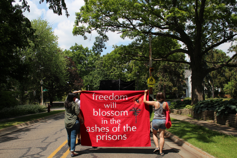 Abolitionists Rally Outside Home of Prison Director in East