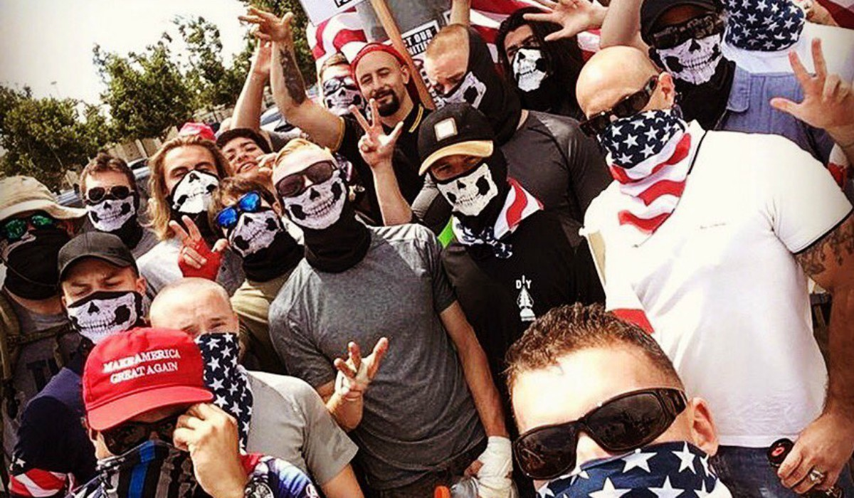 """How """"Based Stickman"""" & Proud Boys are Working with Neo-Nazis in So-Cal - It's Going Down"""