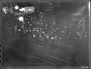 the only known surviving photograph of the uprising.