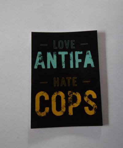 Love antifa hate cops