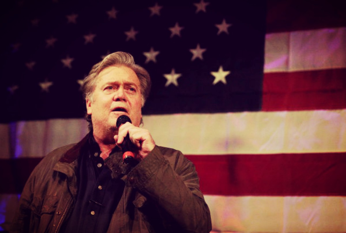 in roy moore we can see a reflection of bannon s own political ideology bannon believes that there is a cultural war between those of the christian faith
