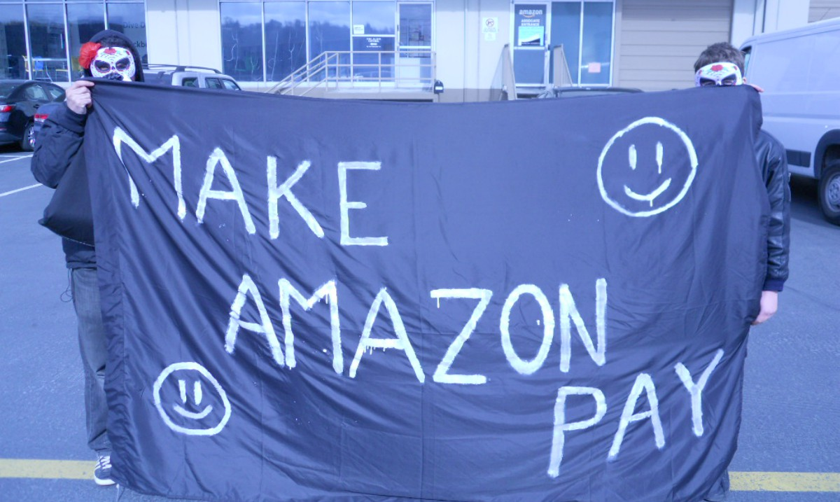 Disrupt the Gig-Economy: Demo at Amazon Flex in Seattle
