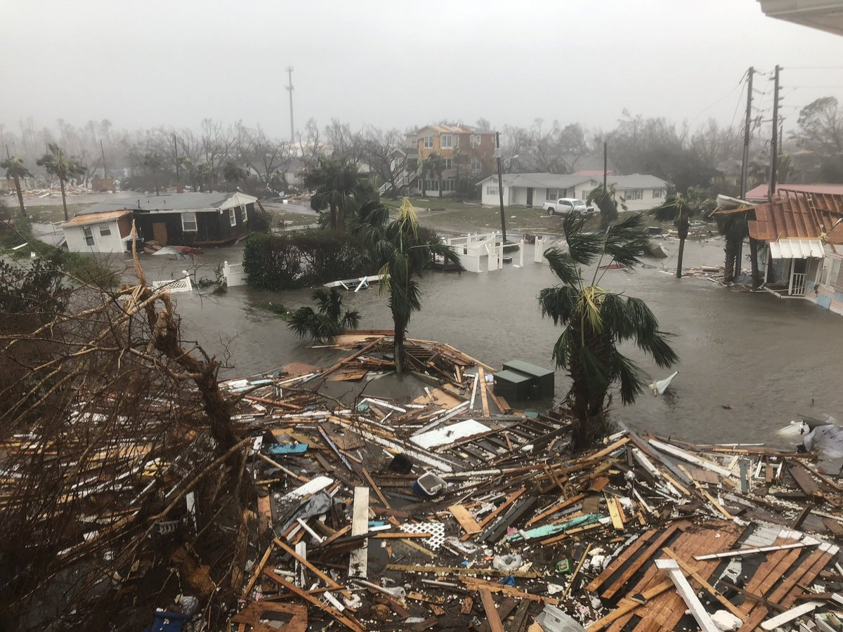 pictures from hurricane michael - HD1024×768
