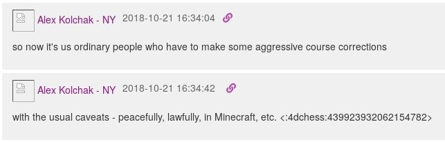 Peacefully lawfully in Minecraft
