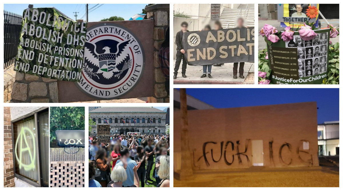 Disrupt, Sabotage, Shut-Down: #ClosetheCamps Resistance Timeline