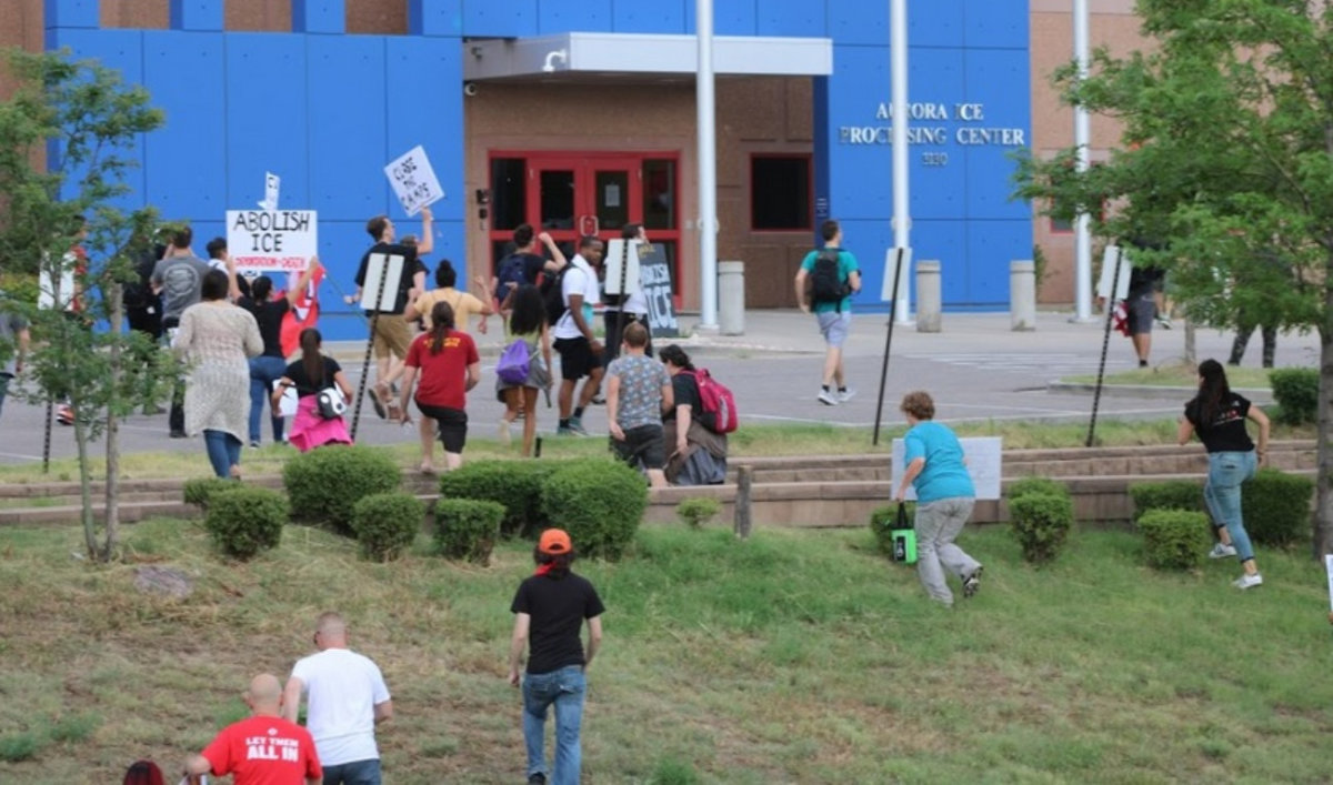 Dispatches from Anti-ICE Rebellion in Aurora, Colorado