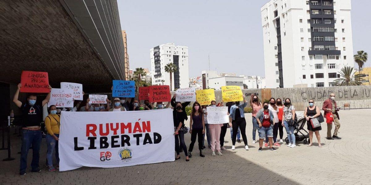 A rally to free Ruyman Rodriguez